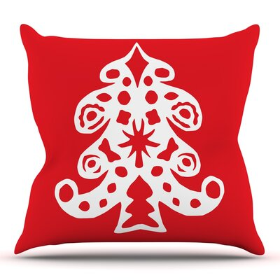 Noble Pine by Miranda Mol Throw Pillow Size: 18 H x 18 W