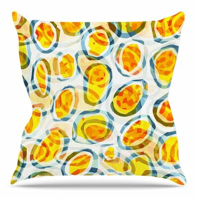 Sunny Places by Matthias Hennig Throw Pillow Size: 18 H x 18 W