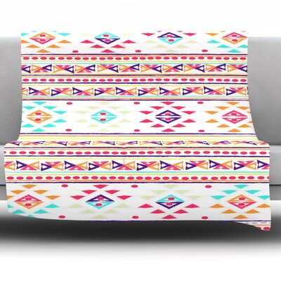 Aylen by Nika Martinez Fleece Blanket Size: 80 L x 60 W