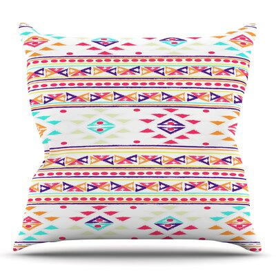 Aylen by Nika Martinez Throw Pillow Size: 18 H x 18 W