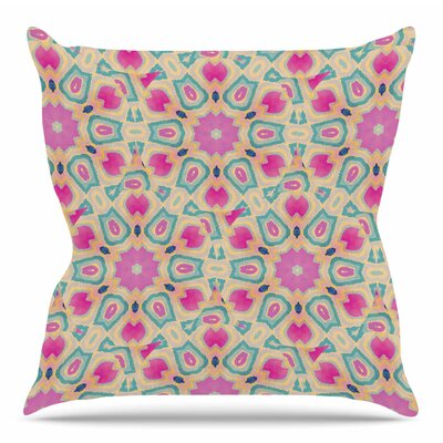 Arabesque by Nika Martinez Throw Pillow Size: 18 H x 18 W