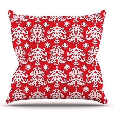 Ornate Trees by Miranda Mol 20 Throw Pillow
