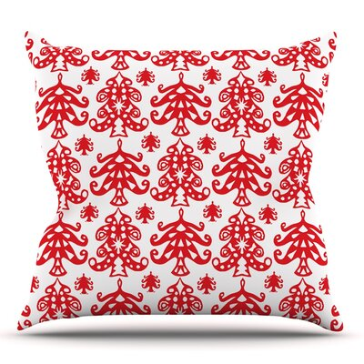 Ornate Trees by Miranda Mol 16 Throw Pillow