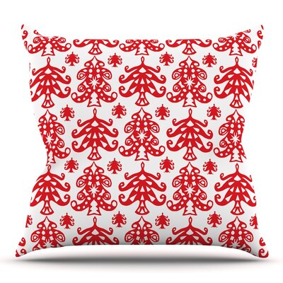 Ornate Trees by Miranda Mol 18 Throw Pillow