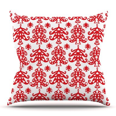 Ornate Trees by Miranda Mol 26 Throw Pillow