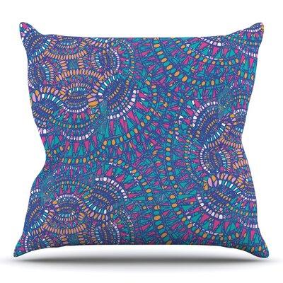 Kaleidoscopic by Miranda Mol 16 Throw Pillow