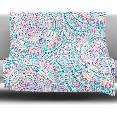 Kaleidoscopic by Miranda Mol 80 Fleece Blanket