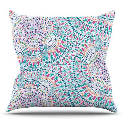 Kaleidoscopic by Miranda Mol 16 Throw Pillow