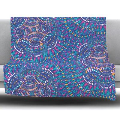 Kaleidoscopic by Miranda Mol 30 Fleece Blanket