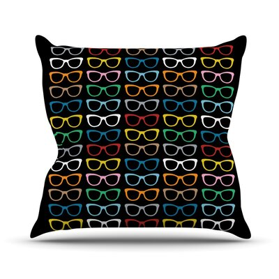 Sun Glasses at Night Outdoor Throw Pillow