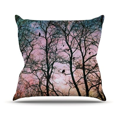 The Birds Outdoor Throw Pillow