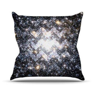 Messier Chevron Outdoor Throw Pillow
