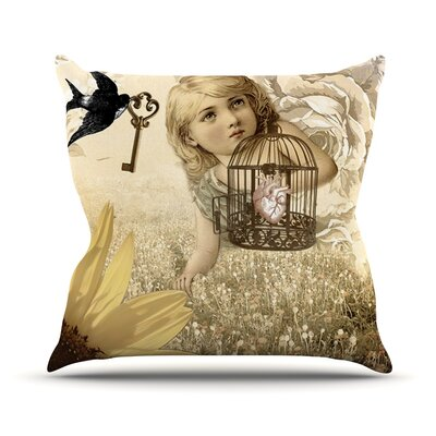 Key Outdoor Throw Pillow