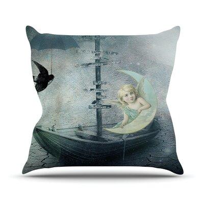 Rain Outdoor Throw Pillow