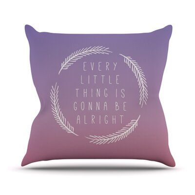 Little Thing Outdoor Throw Pillow