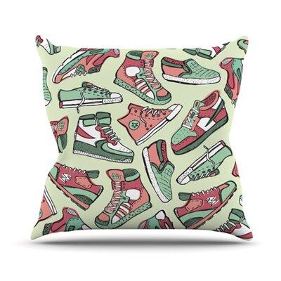 Sneaker Lover II Outdoor Throw Pillow