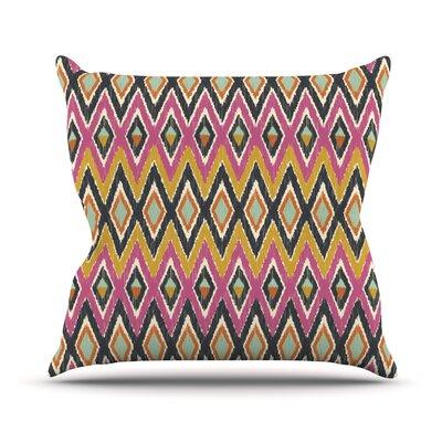 Sequoyah Tribals Outdoor Throw Pillow