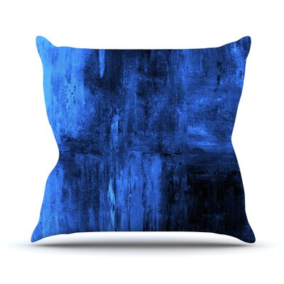 Deep Sea Outdoor Throw Pillow