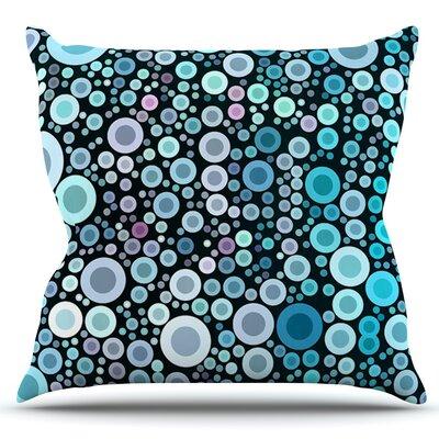 Aquatic by Sylvia Cook Outdoor Throw Pillow