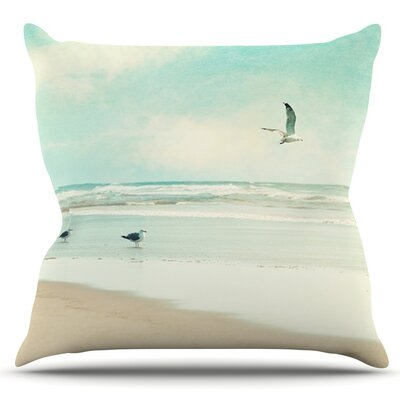 Away We Go by Sylvia Cook Outdoor Throw Pillow
