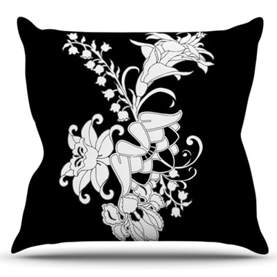 My Garden by Vikki Salmela Outdoor Throw Pillow