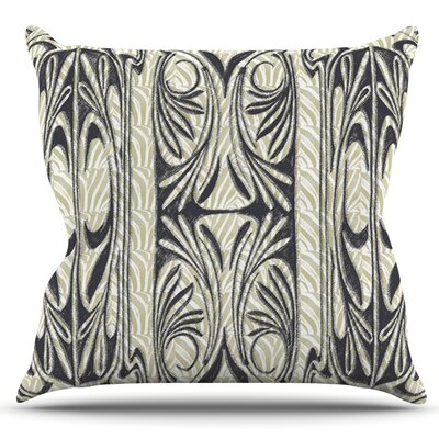 The Palace by Vikki Salmela Outdoor Throw Pillow