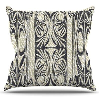 The Palace by Vikki Salmela Outdoor Throw Pillow