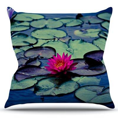 Twilight by Ann Barnes Outdoor Throw Pillow