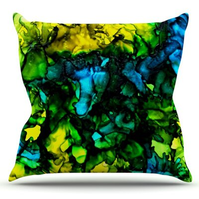 Ariel by Claire Day Outdoor Throw Pillow