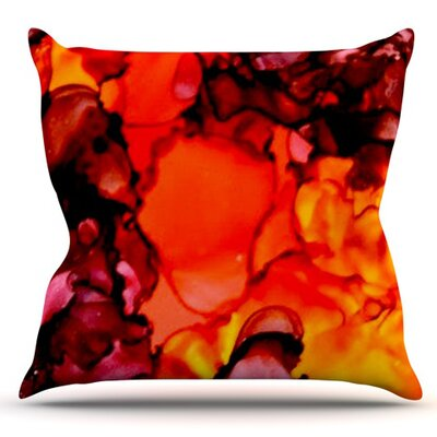 Mordor by Claire Day Outdoor Throw Pillow