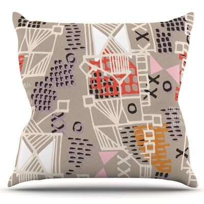 Nico by Gill Eggleston Outdoor Throw Pillow
