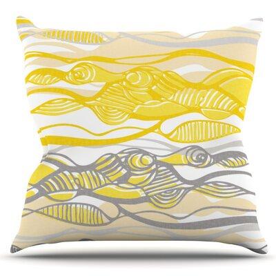 Kalahari by Gill Eggleston Outdoor Throw Pillow