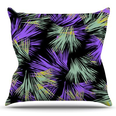 Tropical Fun by Gabriela Fuente Outdoor Throw Pillow