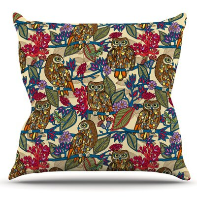 My Boobooks Owls by Julia Grifol Outdoor Throw Pillow