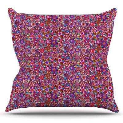 My Dreams in Color by Julia Grifol Outdoor Throw Pillow