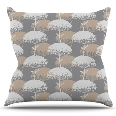 Charming Tree by Julia Grifol Outdoor Throw Pillow