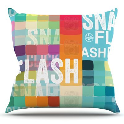 Flash Outdoor Throw Pillow