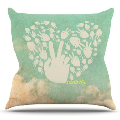 Serenity Outdoor Throw Pillow