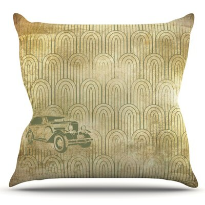 Deco Car Outdoor Throw Pillow