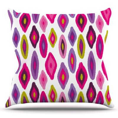 Moroccan Dreams by Nicole Ketchum Outdoor Throw Pillow