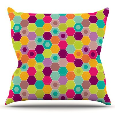 Arabian Bee by Nicole Ketchum Outdoor Throw Pillow