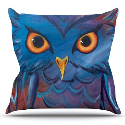 Hoot by Padgett Mason Outdoor Throw Pillow