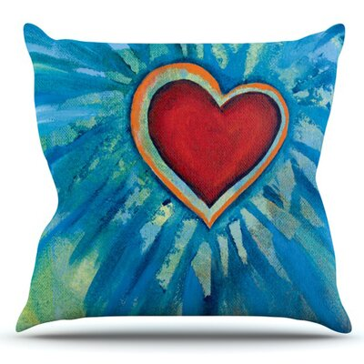 Love Shines On by Padgett Mason Outdoor Throw Pillow