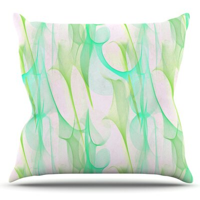 Swim II by Alison Coxon Outdoor Throw Pillow