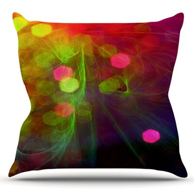 Dance by Alison Coxon Outdoor Throw Pillow