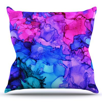 Audrey by Claire Day Outdoor Throw Pillow