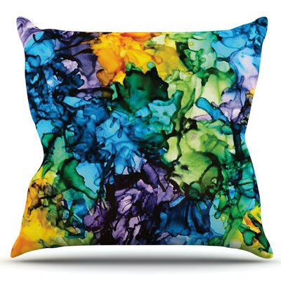 Gra Siorai by Claire Day Outdoor Throw Pillow