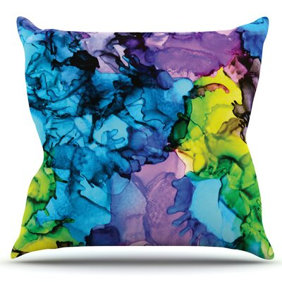Mermaids by Claire Day Outdoor Throw Pillow