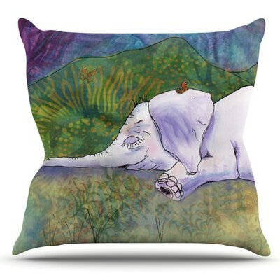 Ernies Dream by Catherine Holcombe Outdoor Throw Pillow