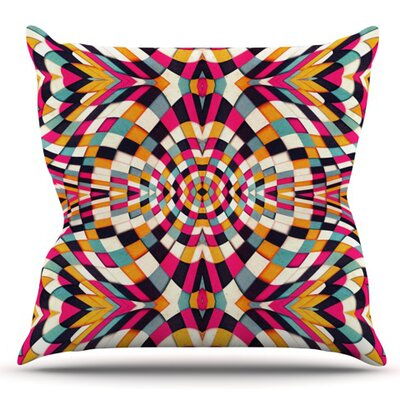 Rebel Ya by Danny Ivan Outdoor Throw Pillow